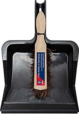 Spear & Jackson 5012095607960Kehrschaufel und Handfeger Set–Schwarz