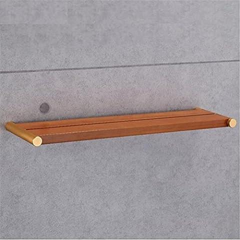 Modylee estante de madera cuarto de baño estante de tablas de madera estante de madera resistente al agua de baño de estilo chino creativo