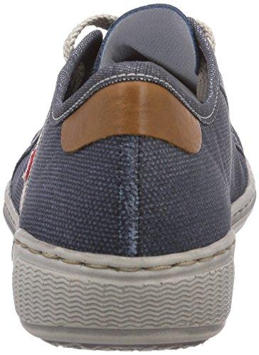Rieker - 42412, Scarpe da ginnastica Donna Blu (Denim/jeans/nuss / 15)