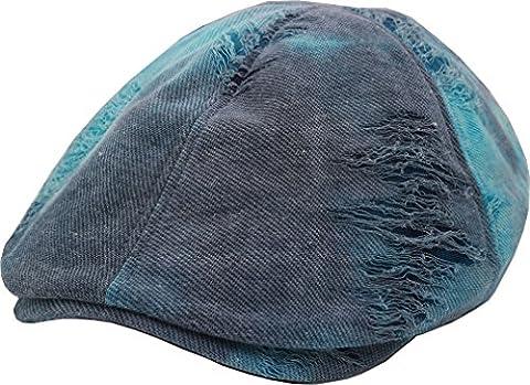 sujii vCAB Pré-rayure Newsboy béret Flat Cap casquette plate Cabbie Hat chapeau de chauffeur Golfer Cap chapeau de golf casquette souple Hunter Cap chapeau de chasseur,