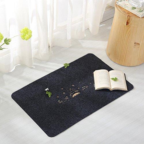Felpudos Entrada de Casa de alfombra interior piso tapete alfombra de