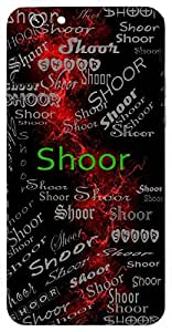 Shoor (Valiant) Name & Sign Printed All over customize & Personalized!! Protective back cover for your Smart Phone : Samsung Galaxy Note-5