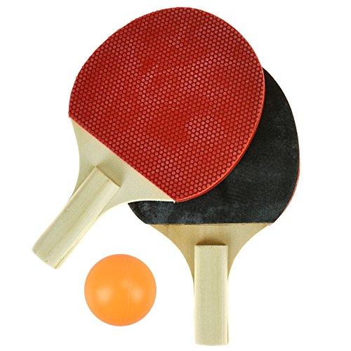 ASAB Kinder Neuheit Mini Tischtennis-Set Fun Games-inkl. tragbar Net, 2Schläger & 1Ping Pong Ball (Table Net Pong Ping Tennis)