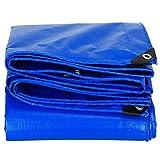 Blaue Plane Wasserdichte Heavy Duty Regen Tuch Picknick Matte Pflanze Sonnenschutz Tier Kaltfestigkeit LKW Staubdicht Schatten Schuppen Tuch, 15 Größe Optionen (größe : 2 x 2m)