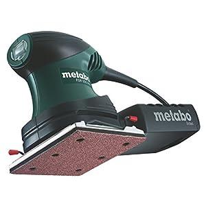 Metabo 6.00066.50 600066500-Lijadora Orbital para Madera FSR Intec 200W con maletín, 200 W