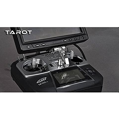 PhilMat Tarot FPV Anzeige Montagewinkel Shortcut Silber TL80019-02