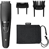 Philips Series 3000 Long Beard & Stubble Trimmer with Full Metal Blades - BT3236/13