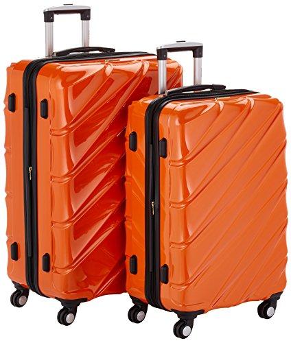 Shaik 7203075 Trolley Koffer, 2er Set (L, XL), orange