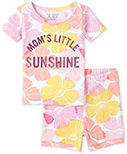 The Children's Place Baby Boys' Mommy And Me Foil Sunshine Matching Snug Fit Cotton 2-Piece Pajama