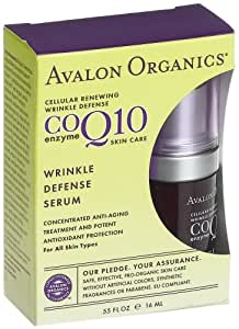 Avalon Organics CoQ10 Wrinkle Defense Serum 16ml