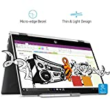 #5: HP Pavilion x360 14-cd0077TU Laptop(8th Gen i3-8130U/4GB DDR4/1TB+8GB SSHD/Intel UHD Graphics/Win 10/HP Pen/MS Office H&S 2016) Natural Silver
