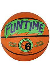 Cosco Funtime Basket Ball, Size 6 (Orange)