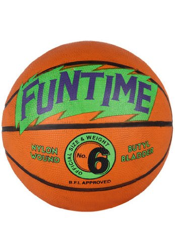Cosco Funtime Basket Ball, Size 6 (Orange)  available at amazon for Rs.210