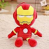 heytoy Peluche Giocattolo-Morbido Ripieno Super Eroe Capitan America Iron Man Peluche Peluche Giocattoli I Vendicatori Film Bambole per Bambini Compleanno Regalo 45cm Uomo di Ferro