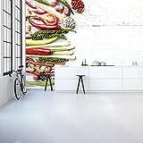 azutura Thai Gemüse & Gewürze Wandbild Essen & Trinken Foto-Tapete Küche Dekor Erhältlich in 8 Größen Riesig Digital