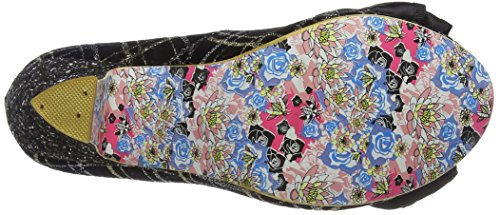 Irregular Choice Ban Joe Scarpe con Tacco da Donna Nero (Black/Silver)