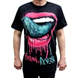 Photo de Falling In Reverse - T-shirt les lèvres Hommes - par Falling In Reverse