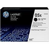 HP 05X Original Toner mit hoher Reichweite (geeignet für HP LaserJet P2055, HP LaserJet P2055d, HP LaserJet P2055dn) 2er Pack, schwarz