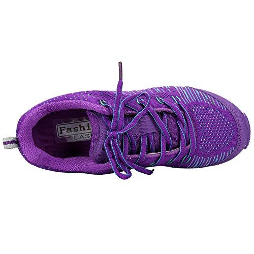Alexis Leroy Scarpe Da Sportive Running Basket Sneakers donna Viola