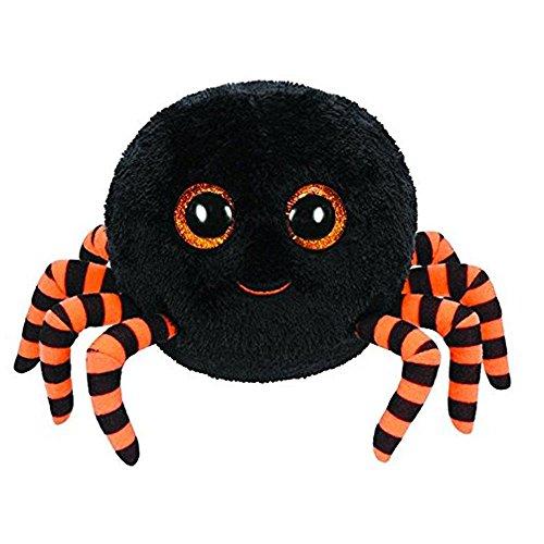 "Beanie Boo Halloween Spider -  Crawly the Spider (Black) - 15cm 6"""
