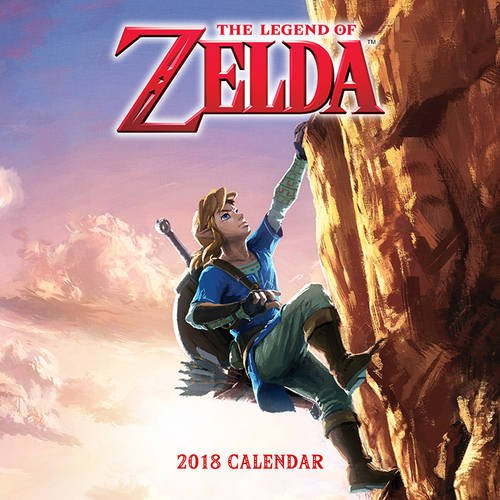 Preisvergleich Produktbild The Legend of Zelda (TM) 2018 Wall Calendar (Calendars 2018)