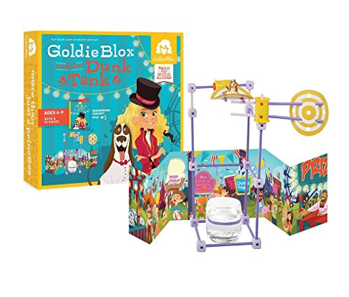GoldieBlox and the Dunk Tank -