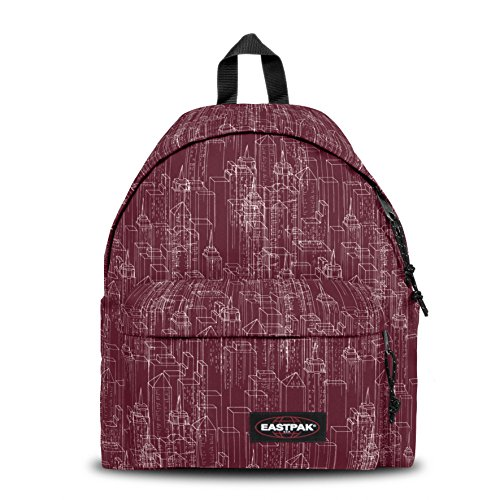 EASTPAK Padded Pak'R Sac à dos Merlot Blocks