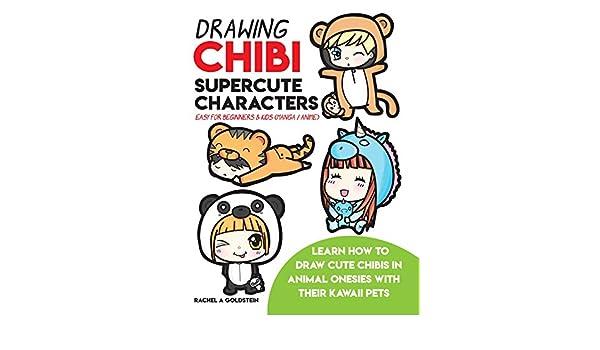 Drawing Chibi Supercute Characters Easy For Beginners Kids Manga