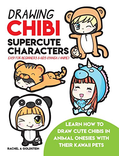 Drawing Chibi Supercute Characters Easy For Beginners Kids Manga Anime Learn