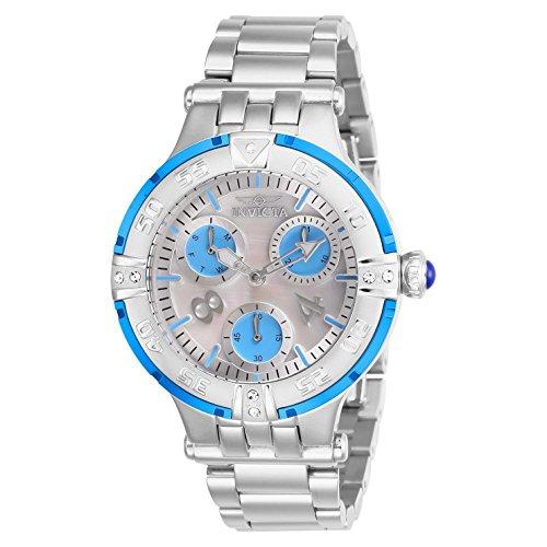 Invicta Women's Subaqua Steel Bracelet & Case Swiss Quartz Analog Watch 26145