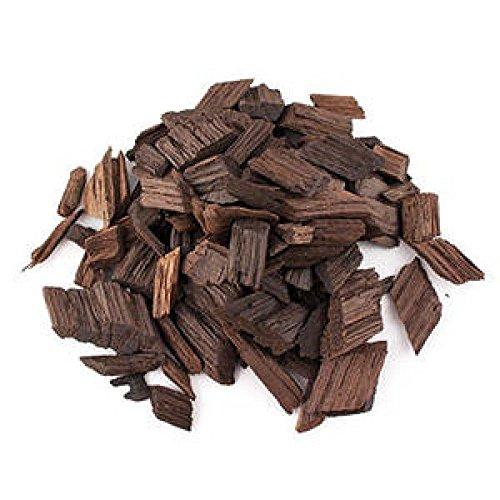 Eichenholzchips Amerikanisch (Hight Toasted) 100g - Amerikanische Eichenholzchips | Eichenholzspäne | Räucherholz | Eichenholz Chips | Holzspäne | Holzfässer