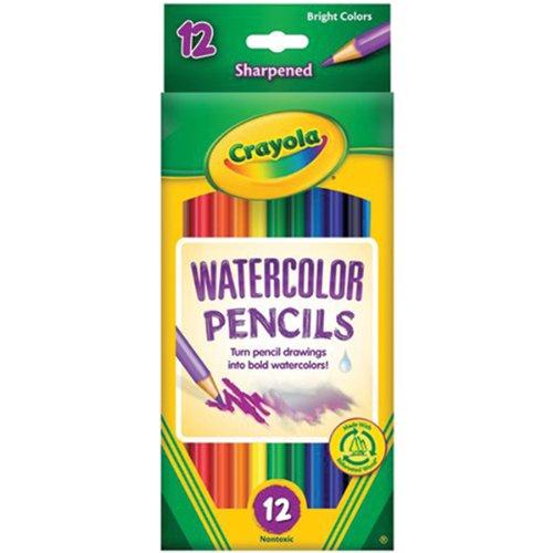 Crayola 12CT Aquarell Buntstifte, (Crayola Aquarell-buntstifte)