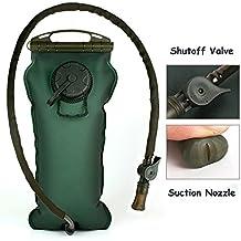 Kottle 100oz/3 litros exterior militar de hidratación, plegable Depósito de agua, para senderismo, camping, escalada, fácil de limpiar apertura grande, la seguridad y no Tóxico material TPU, reutilizable