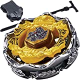 #6: iXport™ 4D Metal Fushion Victory Master Beyblade Set with Launcher (Yellow)