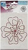 Lefranc & Bourgeois Deko Wandtatoo - Klebe Schablone 15x20cm Motiv - Blumen