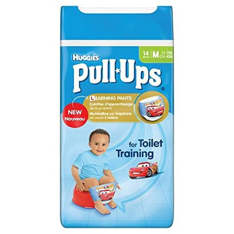 Huggies Medium Pull Ups Potty Training 14 Pantalon