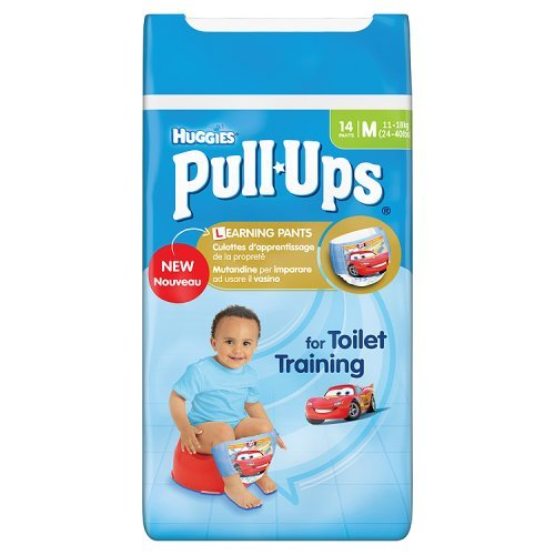 Huggies Medium Pull Ups Töpfchen Training 14 Hose