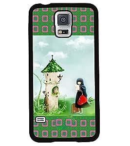 Printvisa 2D Printed Girly Designer back case cover for Samsung S5 Mini - D4151
