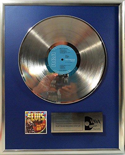 Elvis Presley - King of the 60's platin Schallplatte (goldene gold record) -