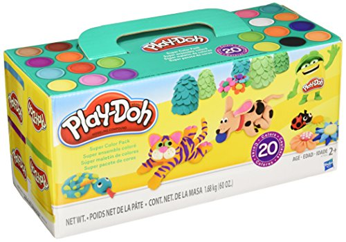Play-Doh Super Color, 20-Pack, 60