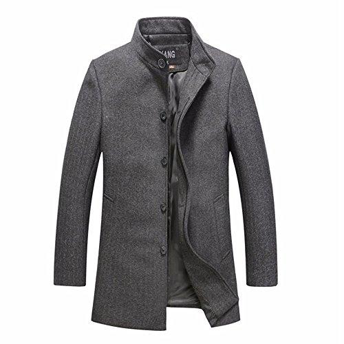 TongZemeng - Manteau - Parka - Homme gray 2