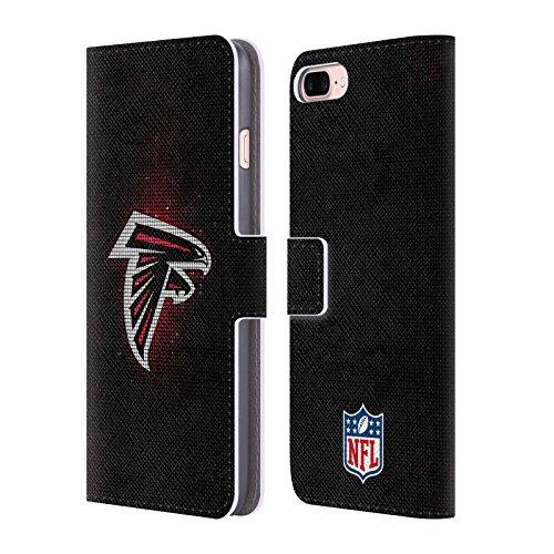 Ufficiale NFL Marmo 2017/18 Atlanta Falcons Cover a portafoglio in pelle per Apple iPhone 6 / 6s LED