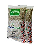 #4: Vision Fresh Organic Fennel Seed (Saunf) - 400 grm - Pack of 2 (200 Gram Each)