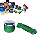 Best Paracords - RainbowStone Paracord 7-Strand 550lb Strength 30m Reel Grass Review