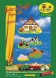 Fischer Fensterbilder Fischer`S Hof/ Bastelpackung mit ENGLISCHER Anleitung / ca. 50x80 cm / zum Selberbasteln / Mobile / Basteln mit Papier und Pappe