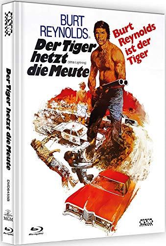 Der Tiger hetzt die Meute - White Lightning [Blu-Ray+DVD] - uncut - auf 222 Stück limitiertes Mediabook Cover B