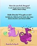 How do you feel, Dragon. Hallo Drache.Wie geht es dir: Children's English-German Picture book (Bilingual Edition), German childrens picture book (Bilingual German books for children:)
