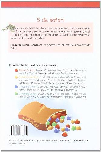 S de safari - Libro + CD (Lecturas Gominola)