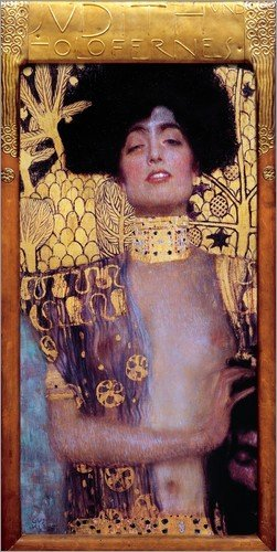 Posterlounge Lienzo 40 x 80 cm: Judith and Holofernes