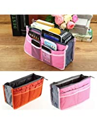 Unisex Essential Travel Pouch Bag Portable Waterproof Washable Cosmetic Bag Travel Goods - 12 Pockets